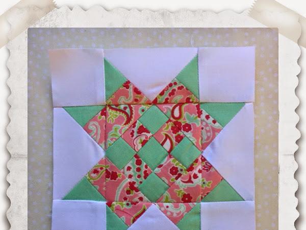Chatelaine- Free BOW Sampler Quilt Block 28