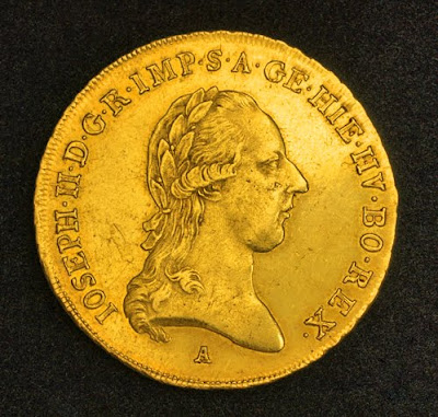 Austrian Netherlands Numismatic Double Souverain d'or Gold coins