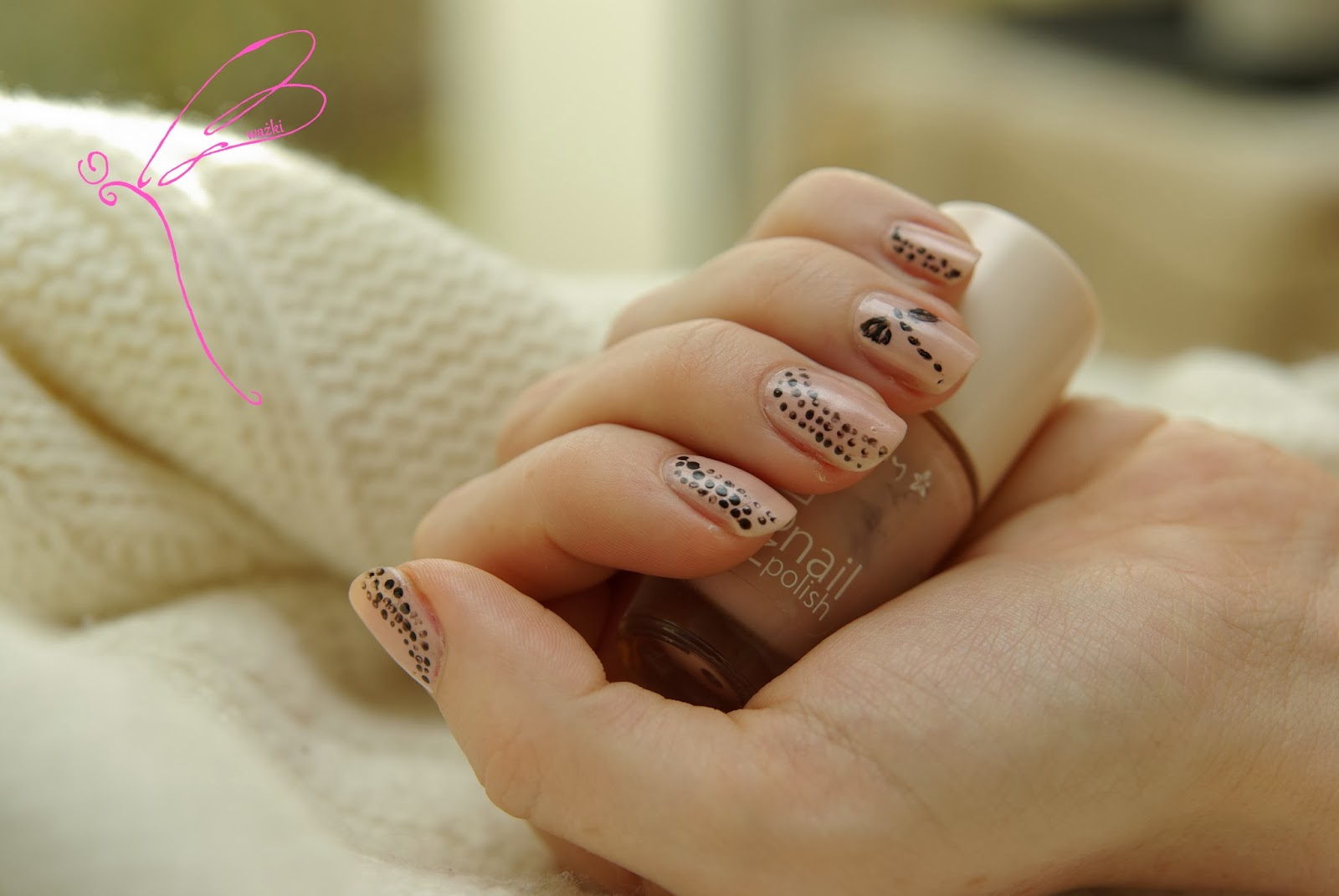 manicure ważki