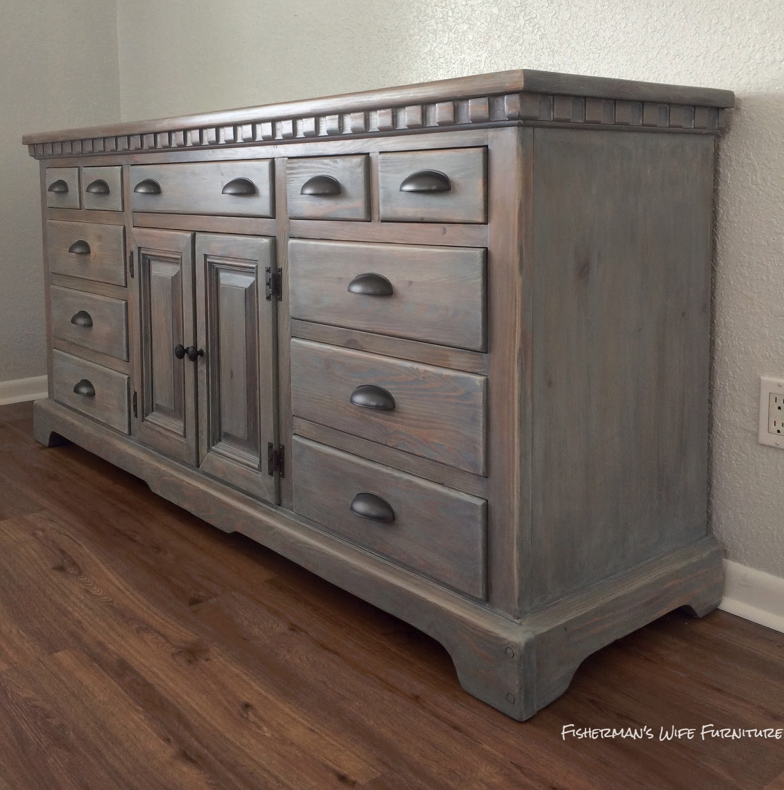 Fisherman 39 S Wife Furniture Master Bedroom Dresser Reveal