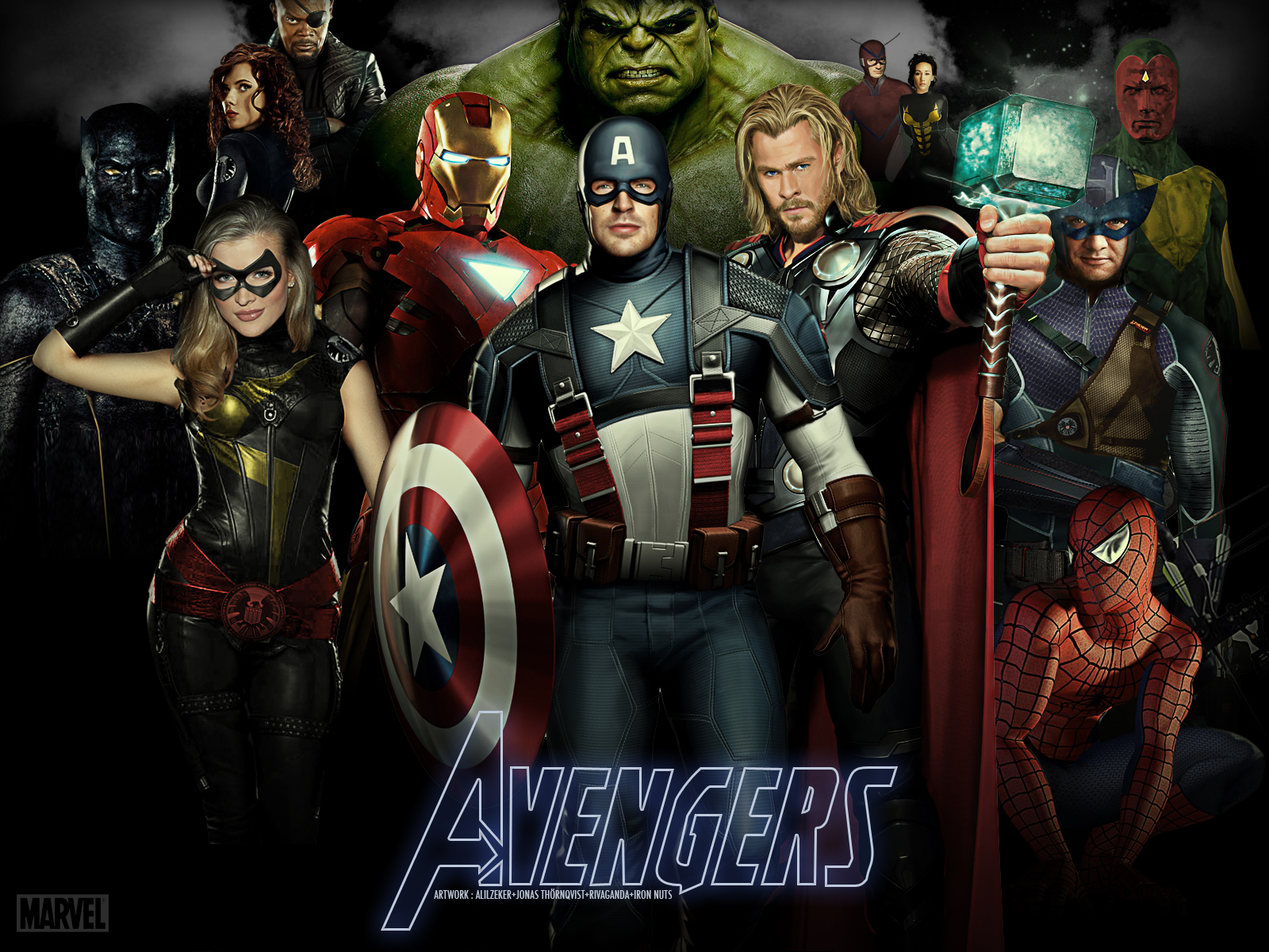 Wallpapers - Os Vingadores (The Avengers)