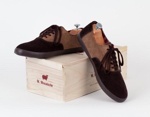 M.moustache: Marque de chaussures pour hommes tendances