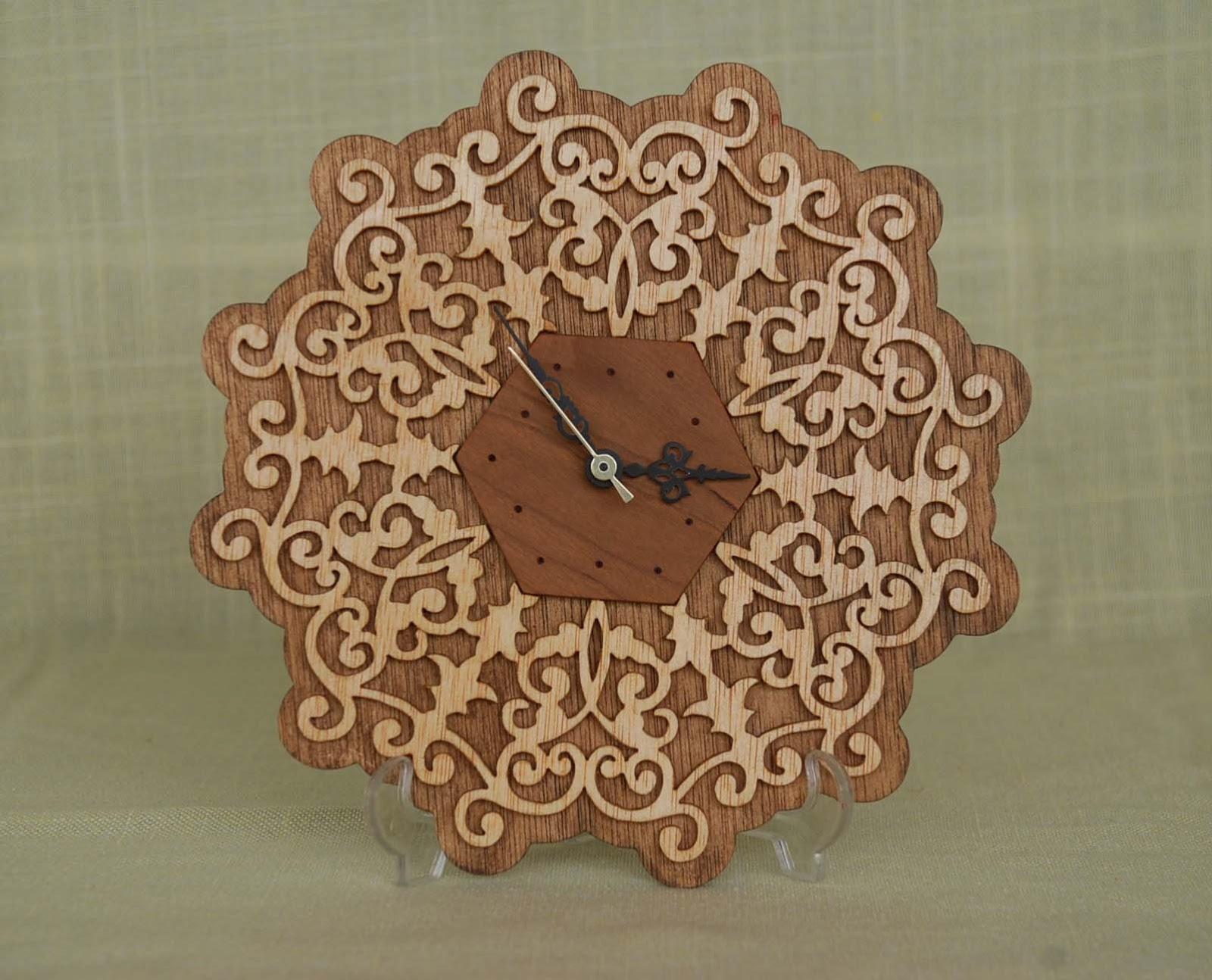 El arte de la marqueteria reloj - Madera para marqueteria ...
