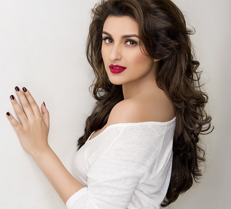 Parineeti Chopra doing a photoshoot