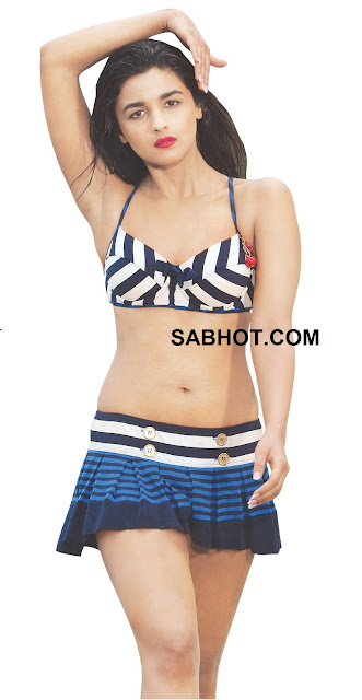 Alia bhatt Bikini Hot Student of the year