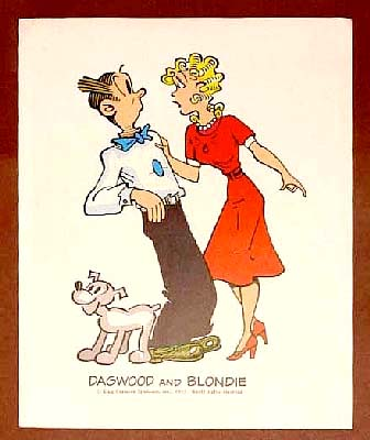 blondie and dagwood