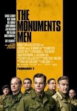Carátula del DVD The Monuments Men