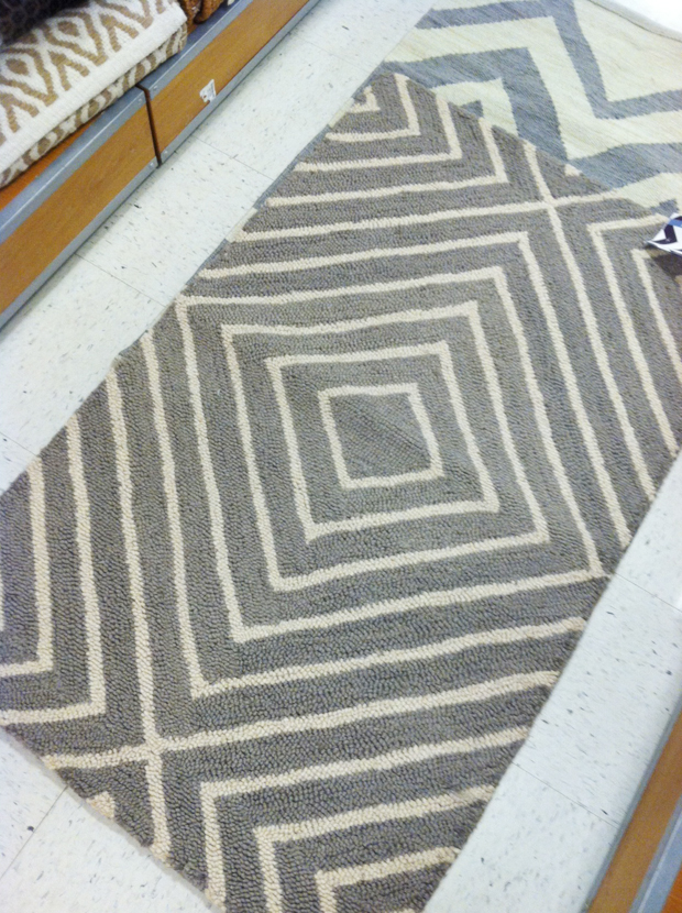 Lots Of Great Accent Rugs, I Think This One Was About $30 // TJ Maxx