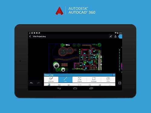 Download AutoCAD 360 PRO Apk