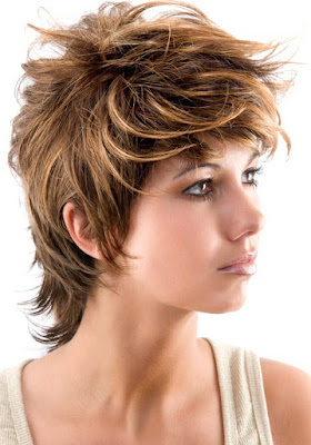 Short Choppy Hairstyles To Look Funky 2