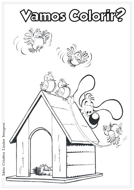 Desenho Boule e Bill para colorir