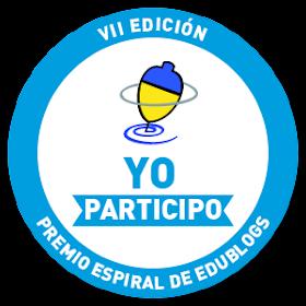 Nominación Premio Espiral EDUBLOGS 2013
