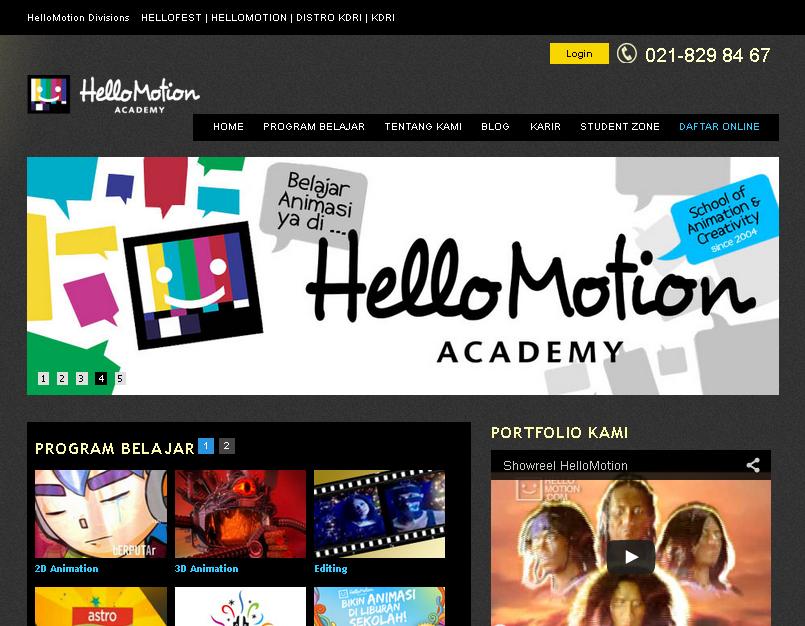 Profil Wahyu Aditya Hello Motion Kementrian Desain