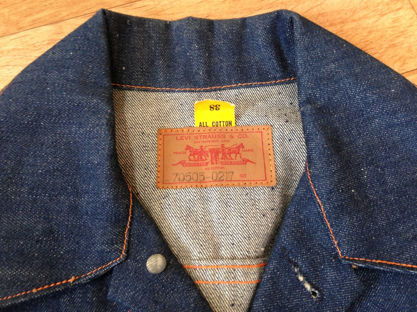 old ones, and the first ones: Levi\'s big E 70505-0217 Type III ...