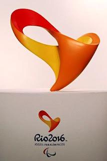 Logo Paralimpíadas Rio 2016 - Agência Tátil