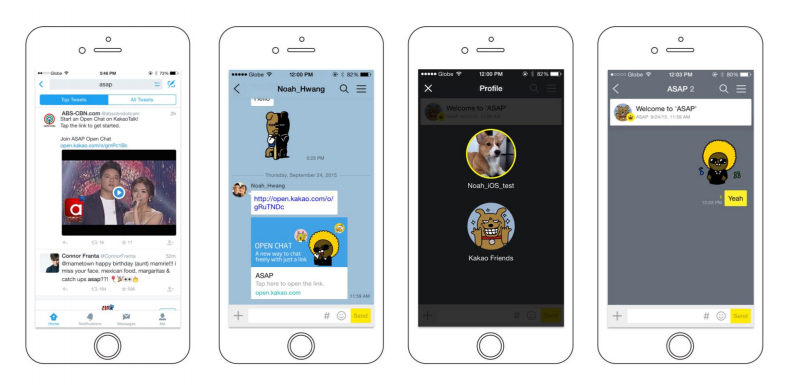 Kakao Talk Open Chat