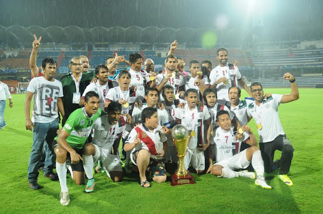 Mohun Bagan - Champions of Hero i-League 2015