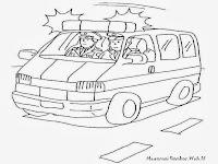 Gambar Mewarnai Mobil Polisi Mengejar Penjahat