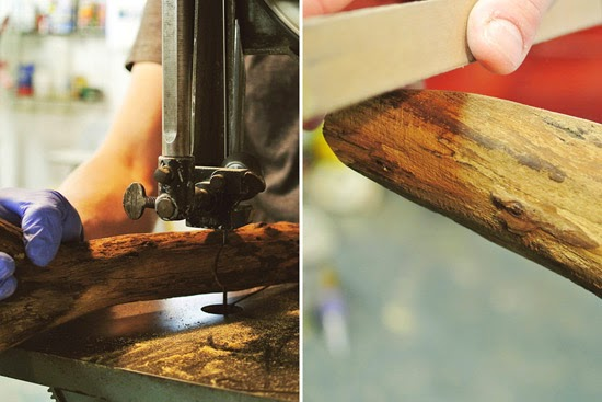 Wandeko selber machen: Holzhaken als Kleiderständer