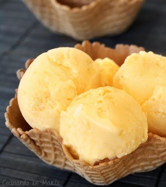 Helado de mango cocinar en casa es for Cocinar con mango