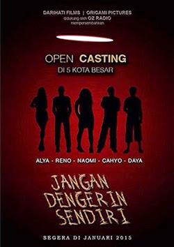Open Casting dan Diskusi Buku Film Jangan Dengerin Sendiri