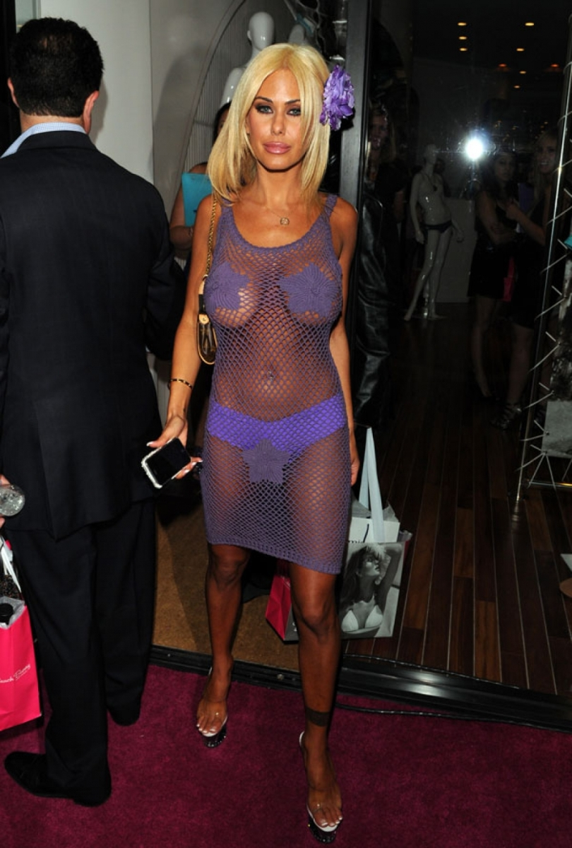 Congratulate, See through shauna sand