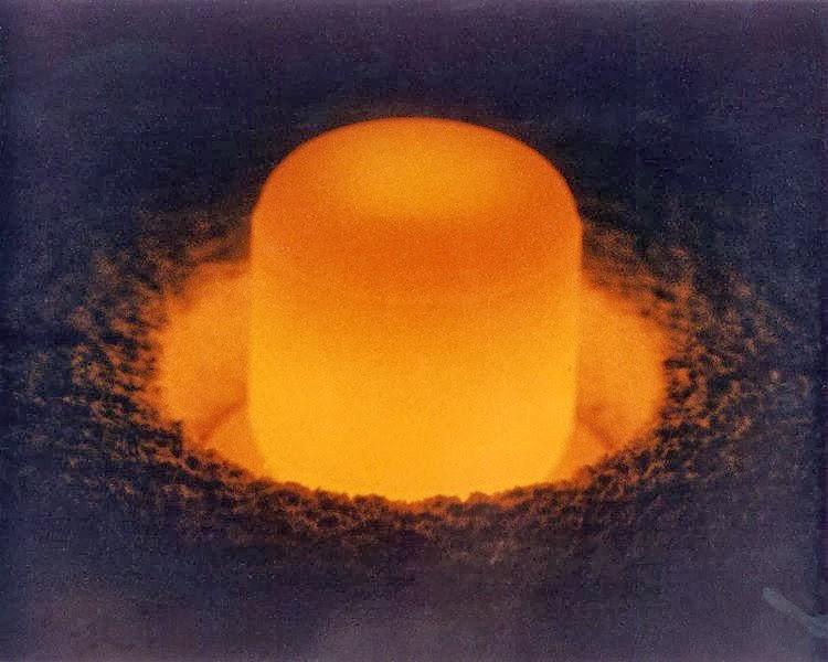 Plutonium pellet