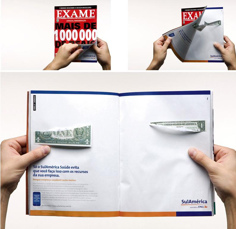 16 Creative Double Page Magazine Ads.