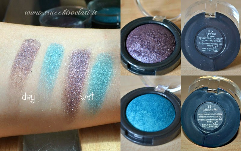 wet and dry baked eyeshadow glossip makeup