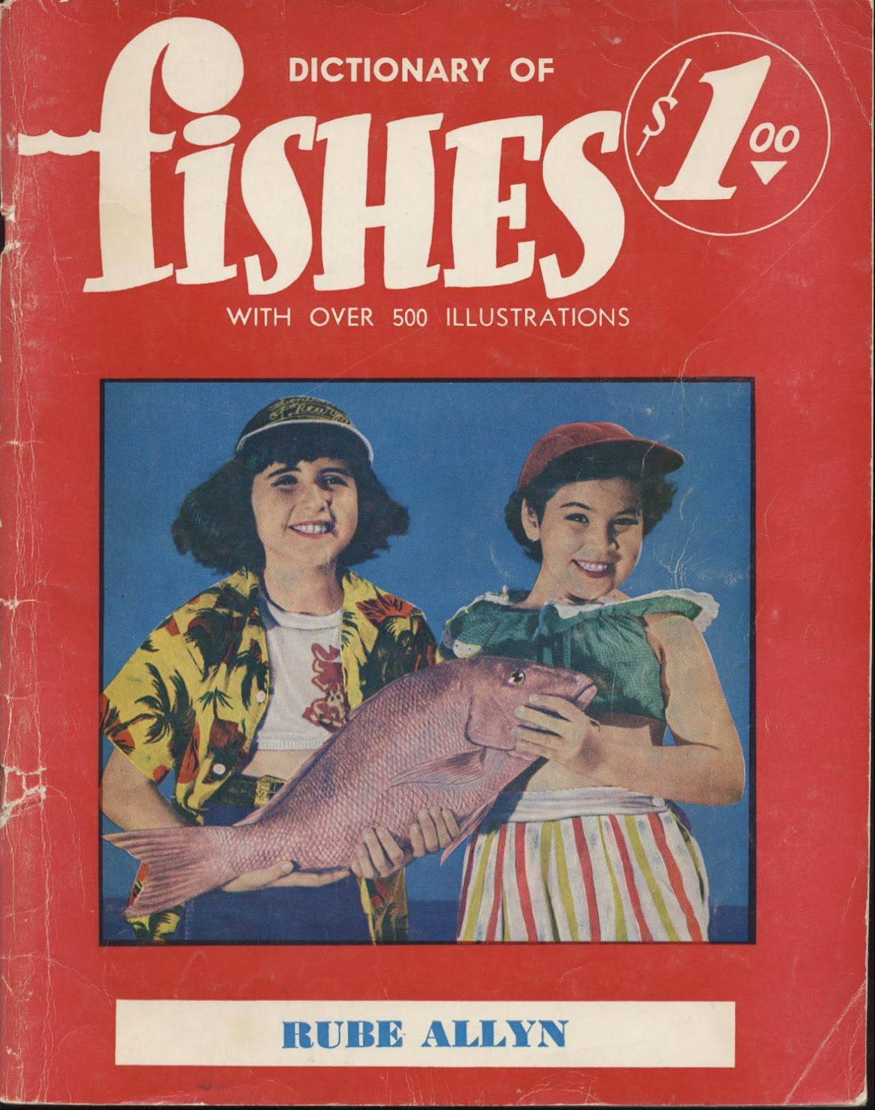 Florida Fishes by Rube Allyn (1969, Paperback)