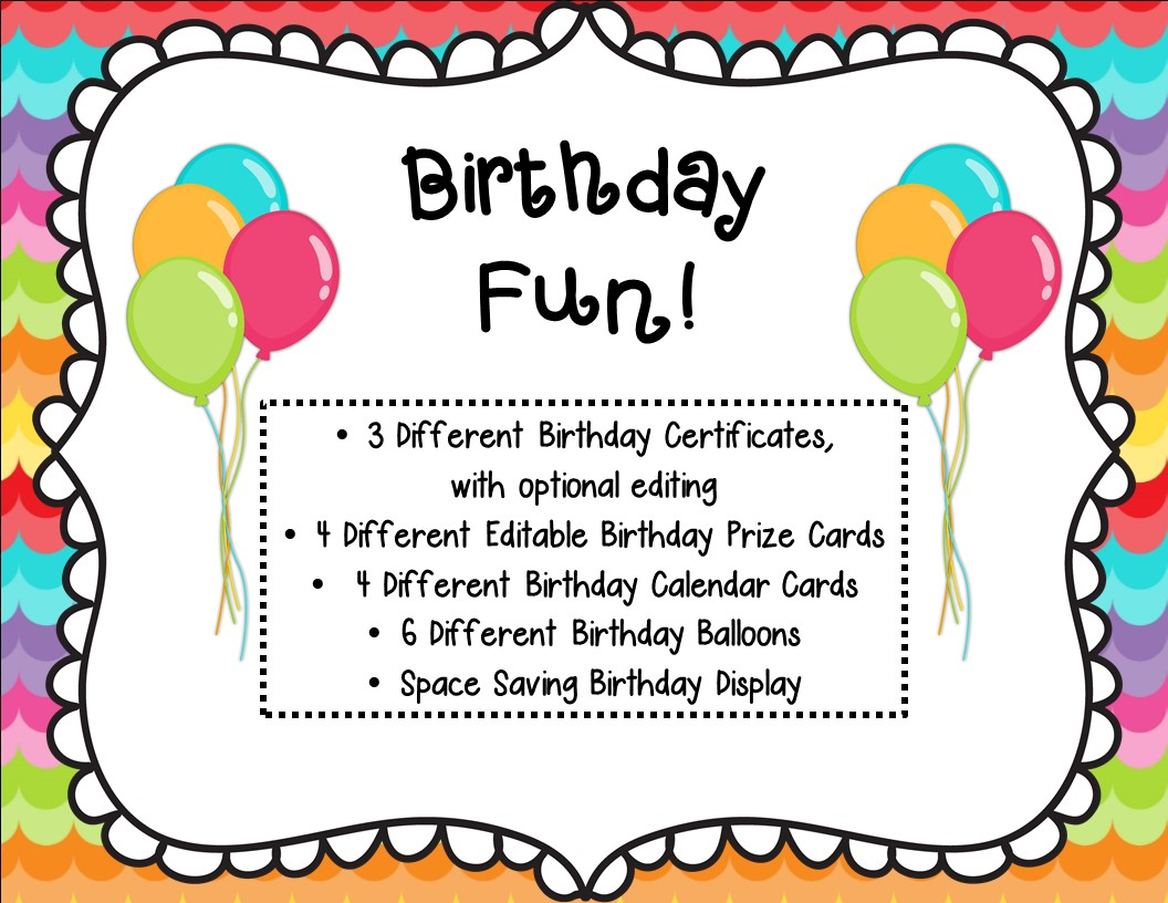 http://www.teacherspayteachers.com/Product/Birthday-Fun-Bundle-798201