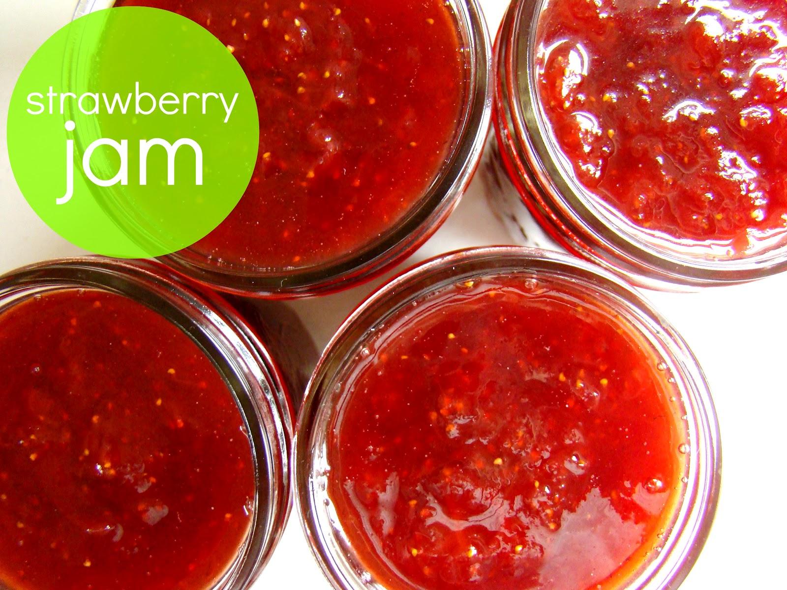 Family Feedbag: Canning - strawberry jam (no added pectin)