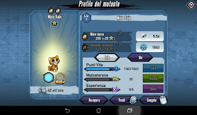 Mutants: Genetic Gladiators Breeding video N°36 (Beast - Kaiju Kitty)