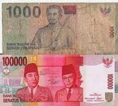 uang seribu seratus ribu