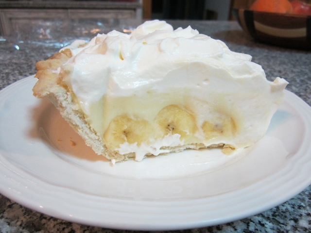 The best banana cream pie is made with loads of bananas! Just a few ...