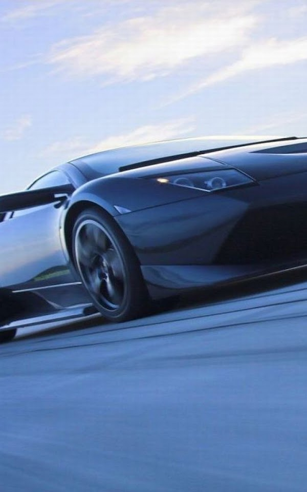 Black Lamborghini Super Sport Car  Galaxy Note HD Wallpaper