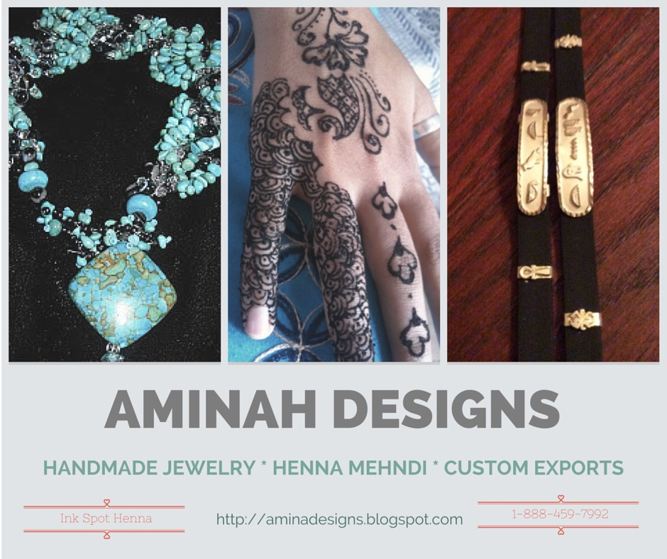 AMINA DESIGNS MEHANDI HENNA