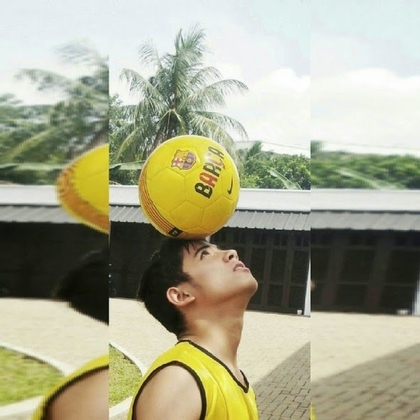 Foto Keren Aliando Syarief hobi olahraga