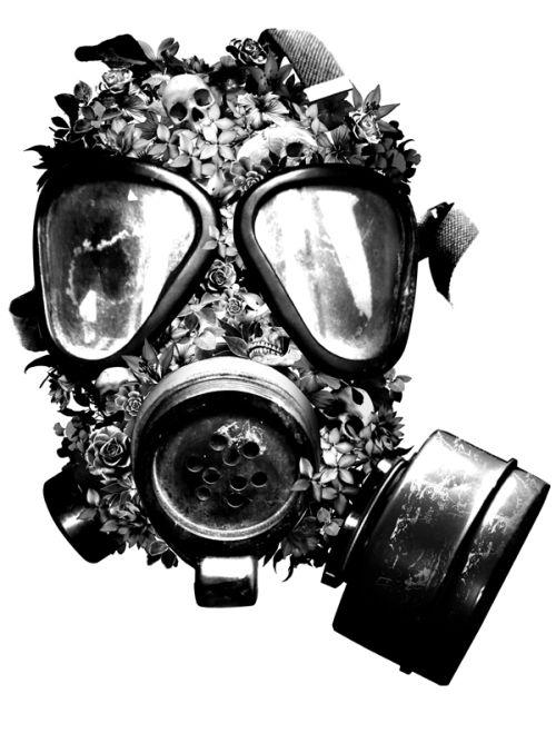 Kent Floris ilustrações incríveis arte Máscara de gás