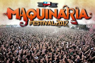 Maquinaria Fest Santiago Chile 2012