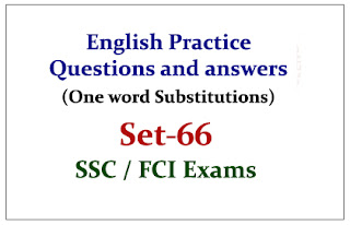 SSC CHSL -Practice English Questions