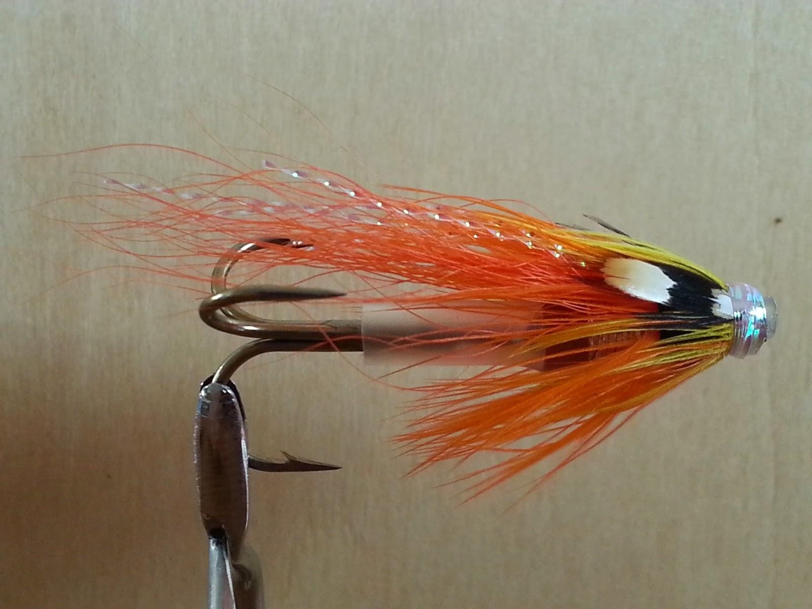 Salmon fly flamethrower salmon flies tay salmon fly for Salon fly