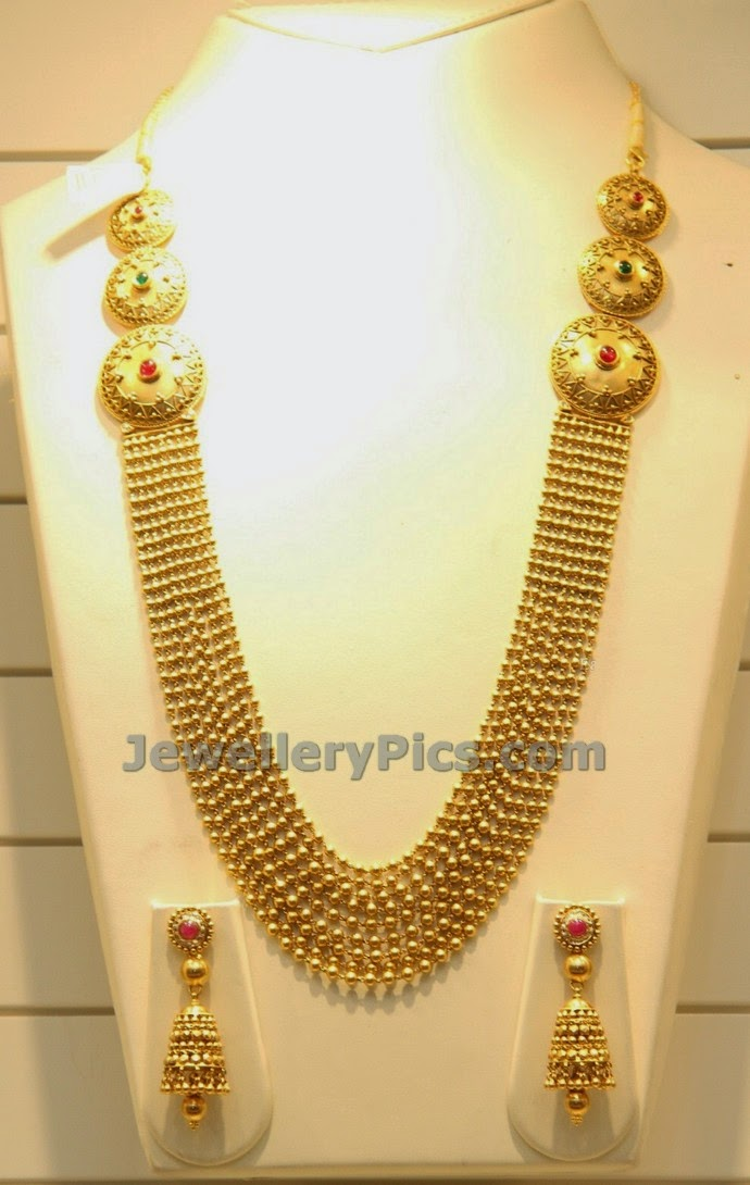 nine steps gundla chandra haram latest jewellery designs