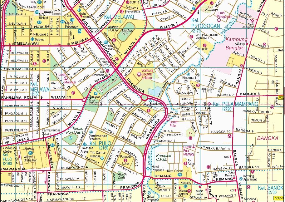 Peta Alamat Walikota Jakarta Timur