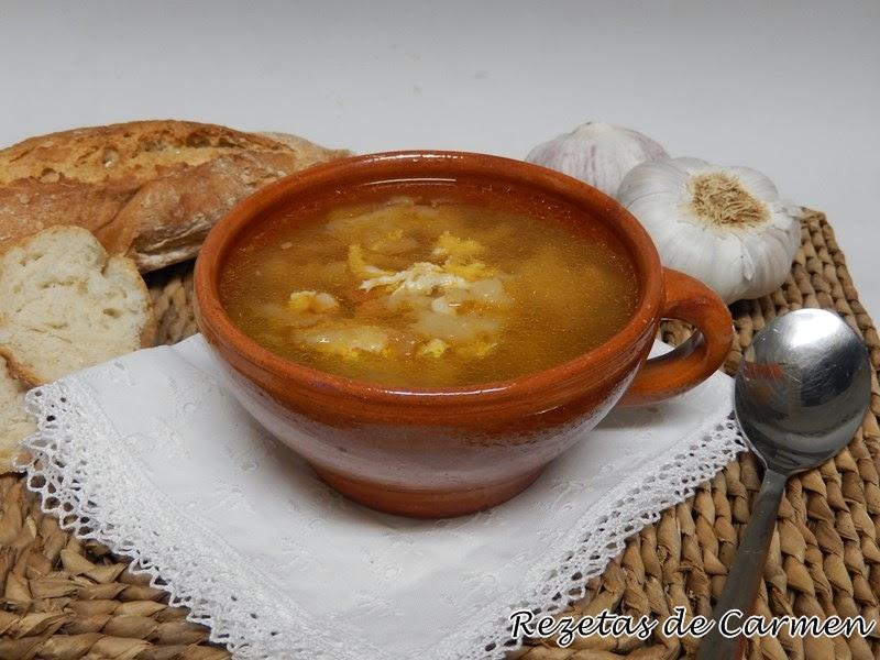 Rezetas de carmen sopa de ajo o sopa castellana - Sopa castellana youtube ...