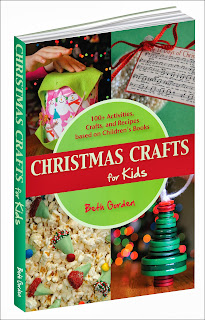 Christmas Crafts for Kids book with over 100 christmas activities, crafts, and snacks based on Childrens' Books