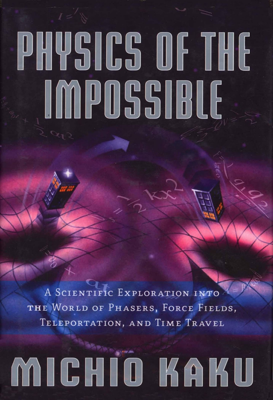 review on physics of the impossible by michio kaku essay Physics of the impossible: a scientific exploration into the world of phasers, force fields, teleportation, and time travel by michio kaku my rating: 5 of 5 stars.
