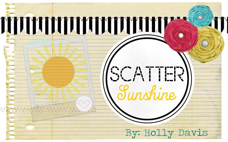 Scatter Sunshine...