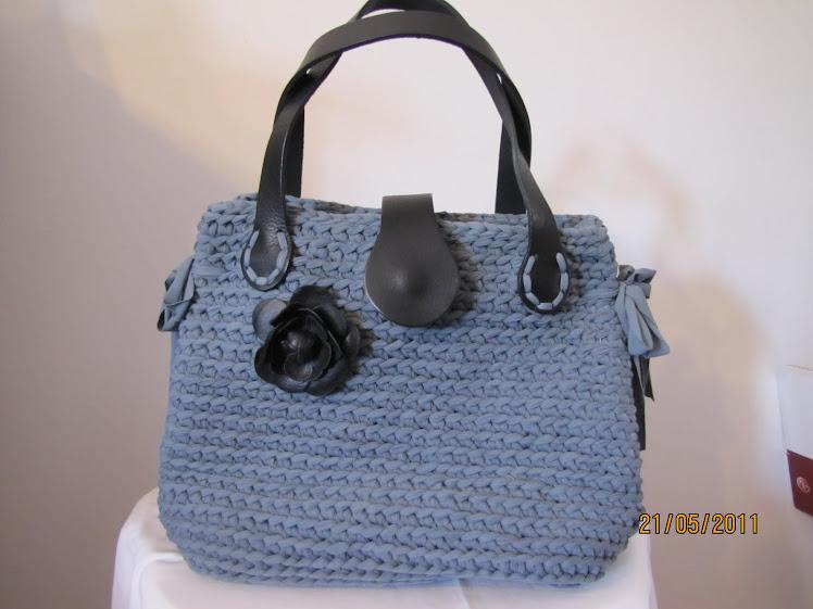 Borse Di Moda In Plastica : Le borse di mara in fettuccia borsa uncinetto con