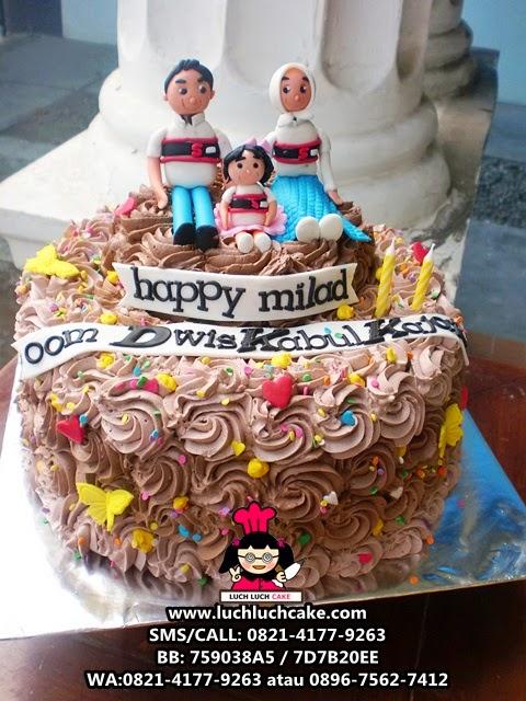 Kue Tart Tema Keluarga Daerah Surabaya - Sidoarjo